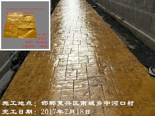 邯郸复兴区南城乡中河口村压花艺术雷竞技raybet